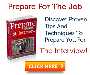 Prepare For The Job Interview In 24 Hours Or Less